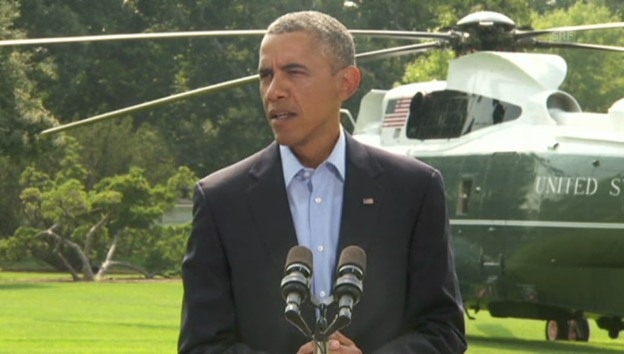 Video «Obama erklärt weiteres Vorgehen der USA im Irak (engl.)» abspielen