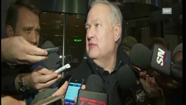 Video «NHL: Vertreter von Liga und Gewerkschaft zur neuesten Gesprächs-Rudne» abspielen