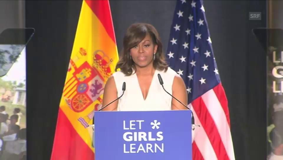 Klare Worte von Michelle Obama