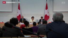 Video «Bundesrat präzisiert Klimaziele» abspielen