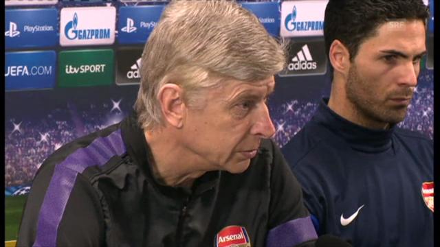Pressekonferenz von Arsène Wenger