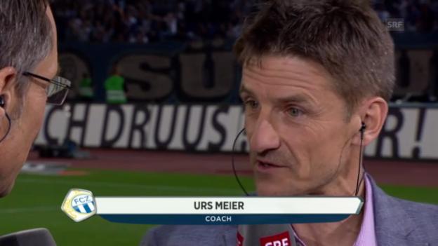 Video «Interview mit Urs Meier» abspielen