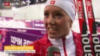 Video «Biathlon: Interview mit Selina Gasparin» abspielen