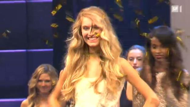 Video «Manuela Frey gewinnt den «Elite Model Look Schweiz»» abspielen