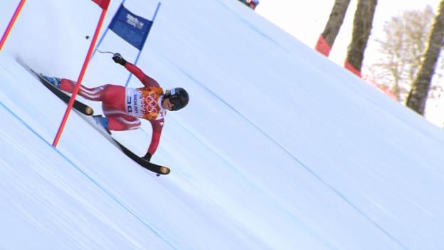 Video «Ski Alpin: Super-G Sotsch, Fahrt von Lara Gut (sotschi direkt, 15.02.2014)» abspielen