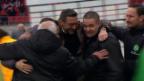 Video «Sion muss sich St. Gallen geschlagen geben» abspielen