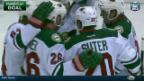 Video «Eishockey: Niederreiter trifft bei Minnesota-Sieg» abspielen