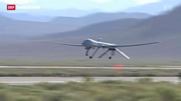 Video «Obama gibt Drohneneinsätze bekannt» abspielen