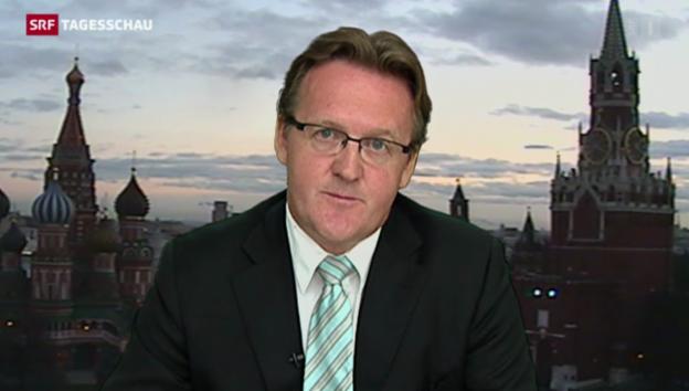 Video «SRF-Korrespondent Franzen zu Moskaus Ankündigung» abspielen