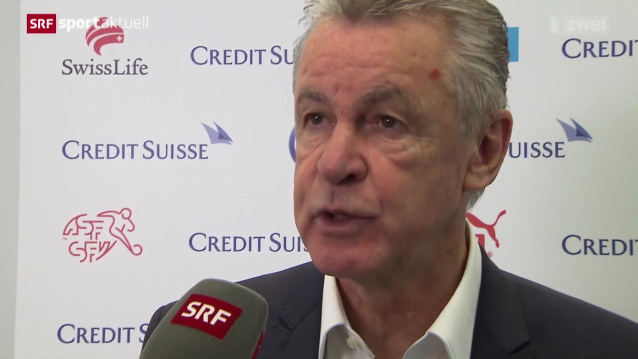 Fussball: Bekanntgabe des Schweizer WM-Kaders