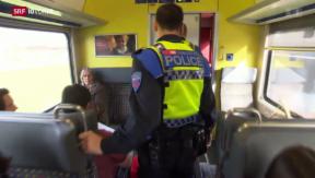 Video «SBB lässt sich Sicherheit etwas kosten» abspielen