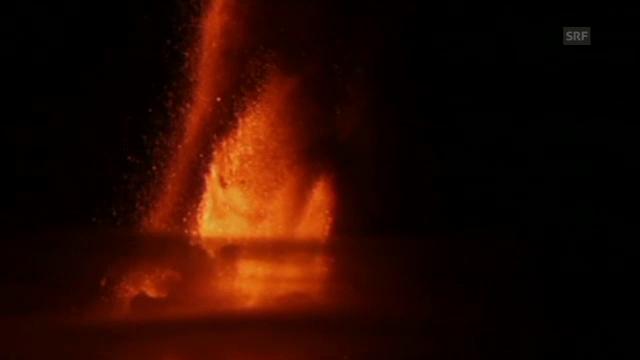 Asche und Feuer – Der Ätna bricht aus