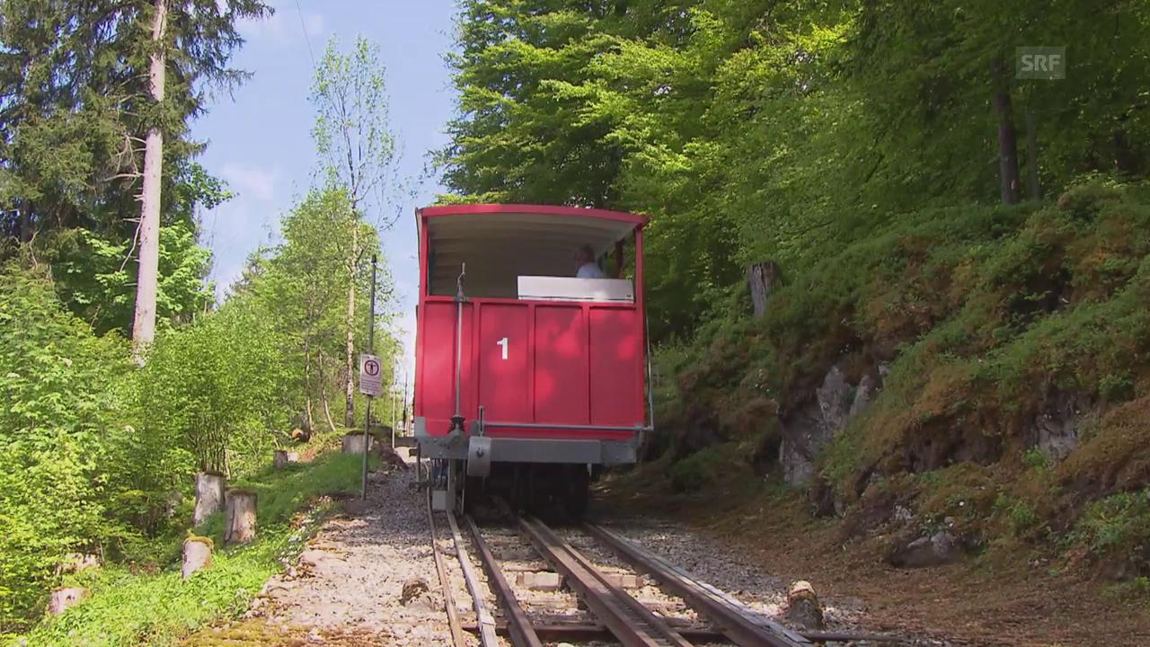 Die historische Giessbachbahn