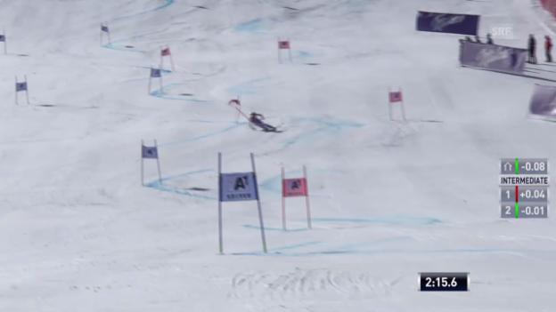 Video «Ski: Der 2. Lauf von Dominique Gisin («sportlive»)» abspielen