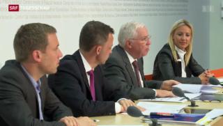 Video «SVP will Schweizer Recht vor internationales setzen» abspielen