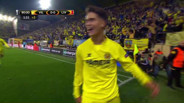Video «Spielzusammenfassung: Villarreal - Liverpool» abspielen