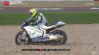 Video «Motorrad: GP Grossbritannien in Silverstone» abspielen