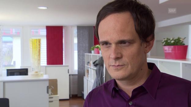 Video «Eishockey: SIHF-CEO Florian Kohler im Interview» abspielen
