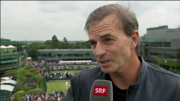 Video «SRF-Tennisexperte Heinz Günthardt im Interview» abspielen