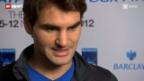 Video «Tennis: Roger Federers Saisonabschluss» abspielen