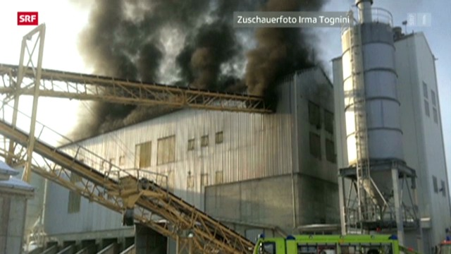 Brand in Zernez