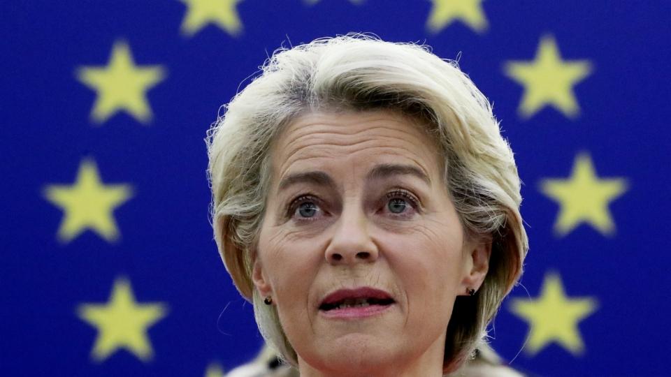 State of the EU: Von der Leyen spricht vor dem EU-Parlament