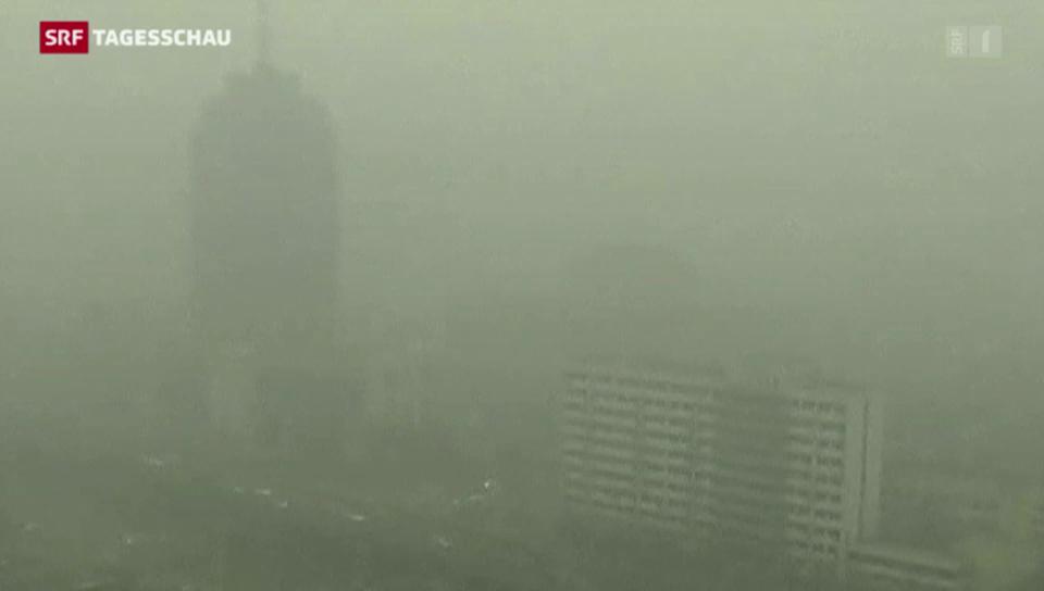 Smog-Alarm in China