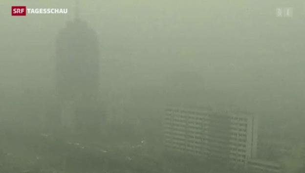 Video «Smog-Alarm in China» abspielen