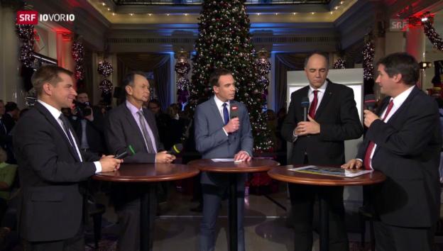 Video «Die vier Parteipräsidenten im Interview» abspielen