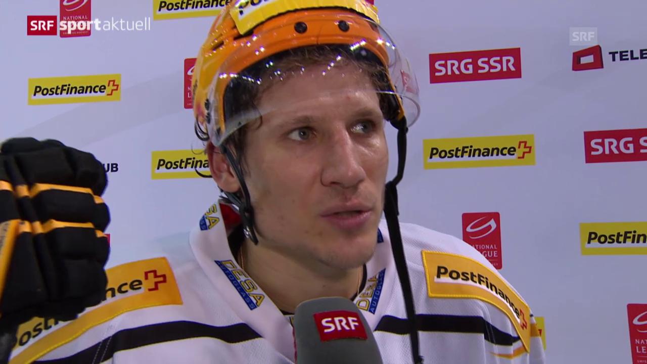 Eishockey: Interview mit Damien Brunner