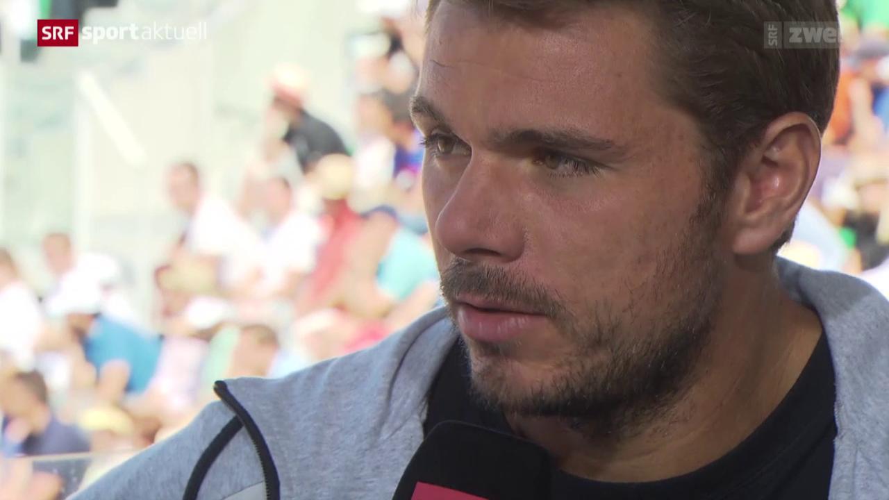 Tennis: Wawrinka vor dem Final