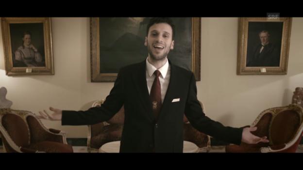 Video «Offizieller Clip des Schweizer Beitrages «Hunter of Stars» von Sebalter» abspielen