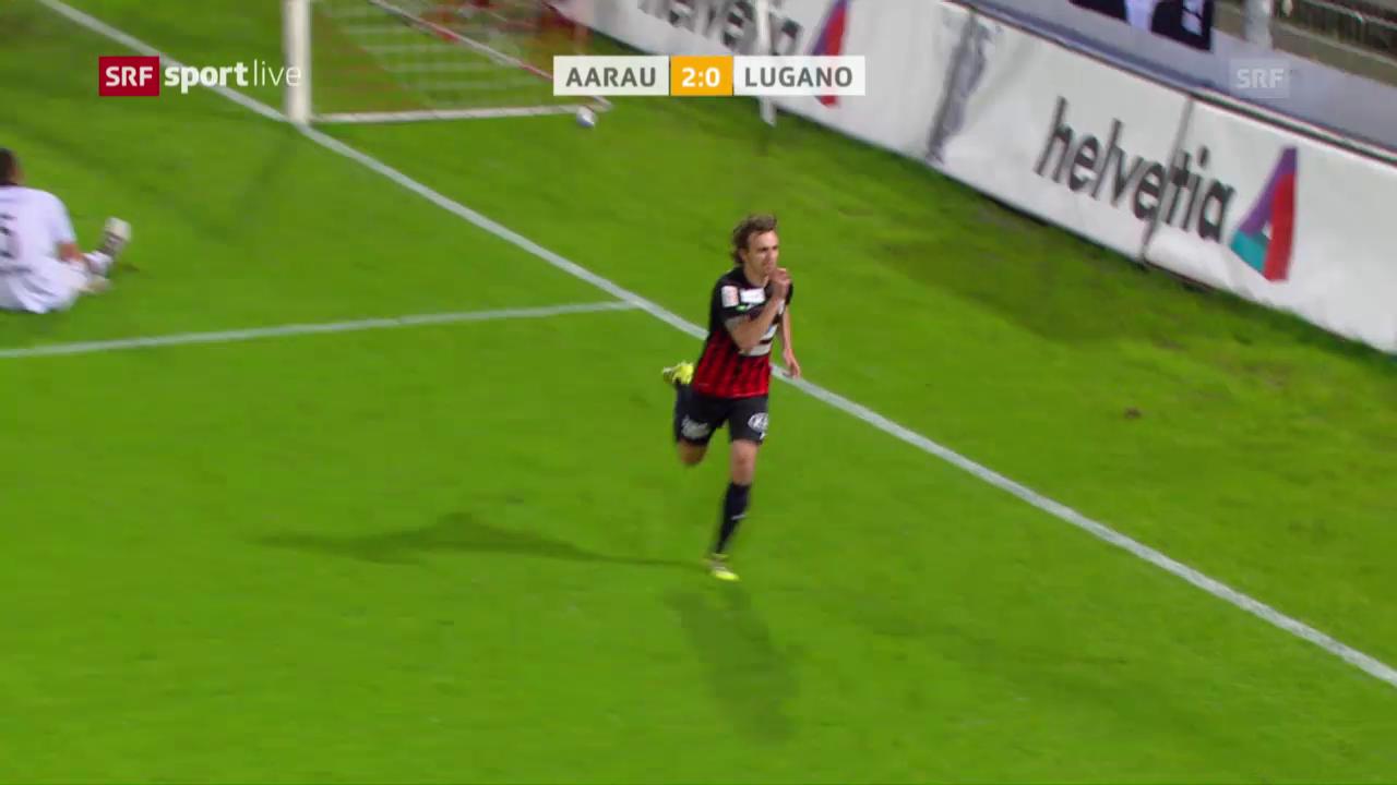 Aarau wirft Vorjahresfinalist Lugano raus