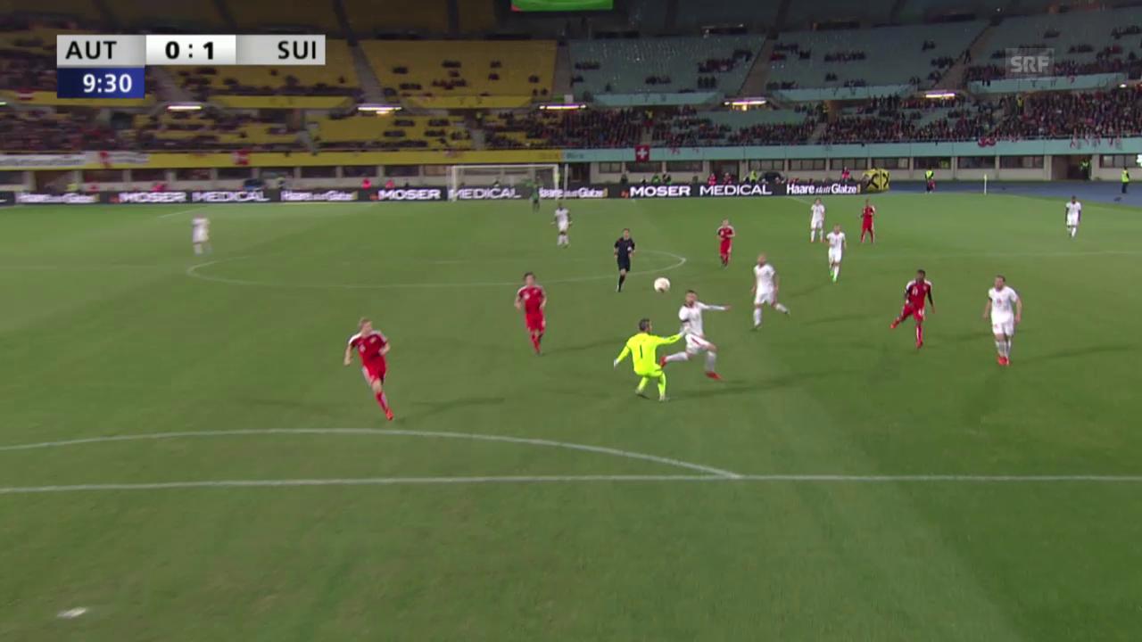 Fussball: Testspiel Österreich - Schweiz, die Live-Highlights