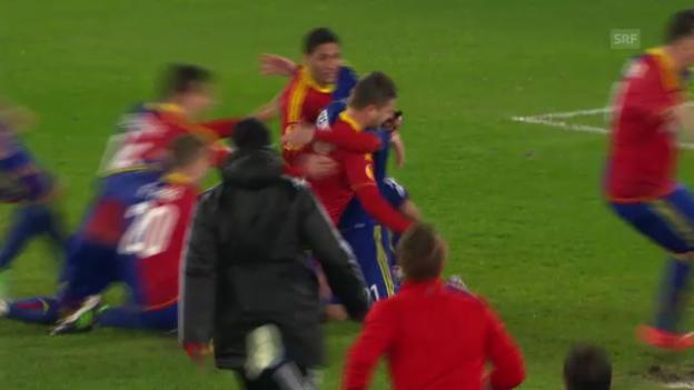 Video «Penaltyschiessen Basel-Tottenham («sportlive»)» abspielen