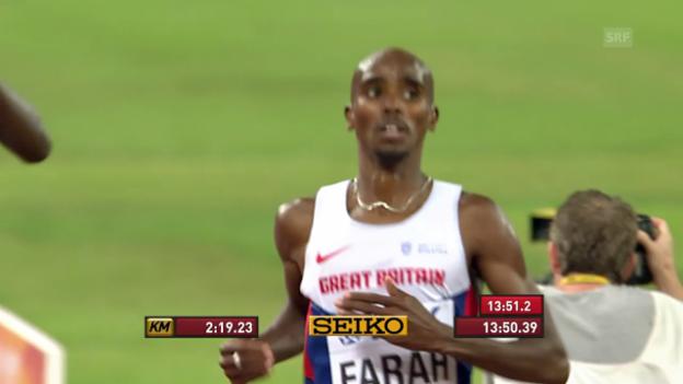 Video «Farahs WM-Gold über 5000 m 2015 in Peking» abspielen