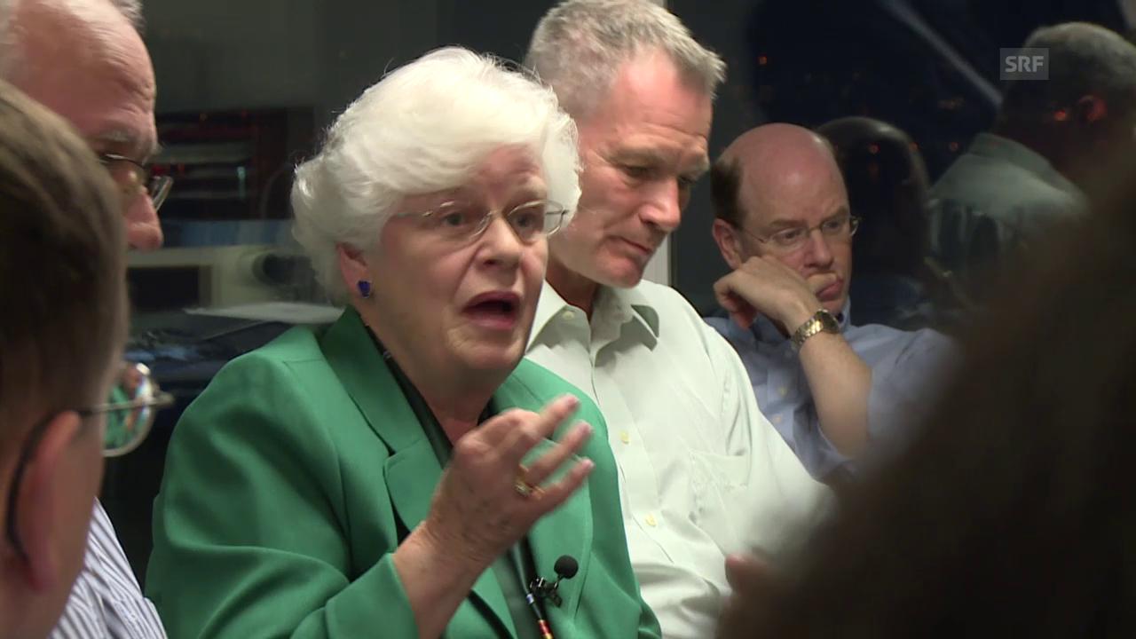 Physikerin Irene Aegerter ist mit Leuthard nicht einverstanden