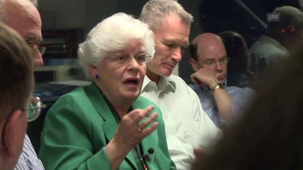 Video «Physikerin Irene Aegerter ist mit Leuthard nicht einverstanden» abspielen