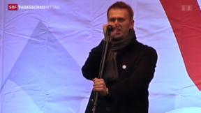 Video «Urteil gegen Kreml-Gegner» abspielen