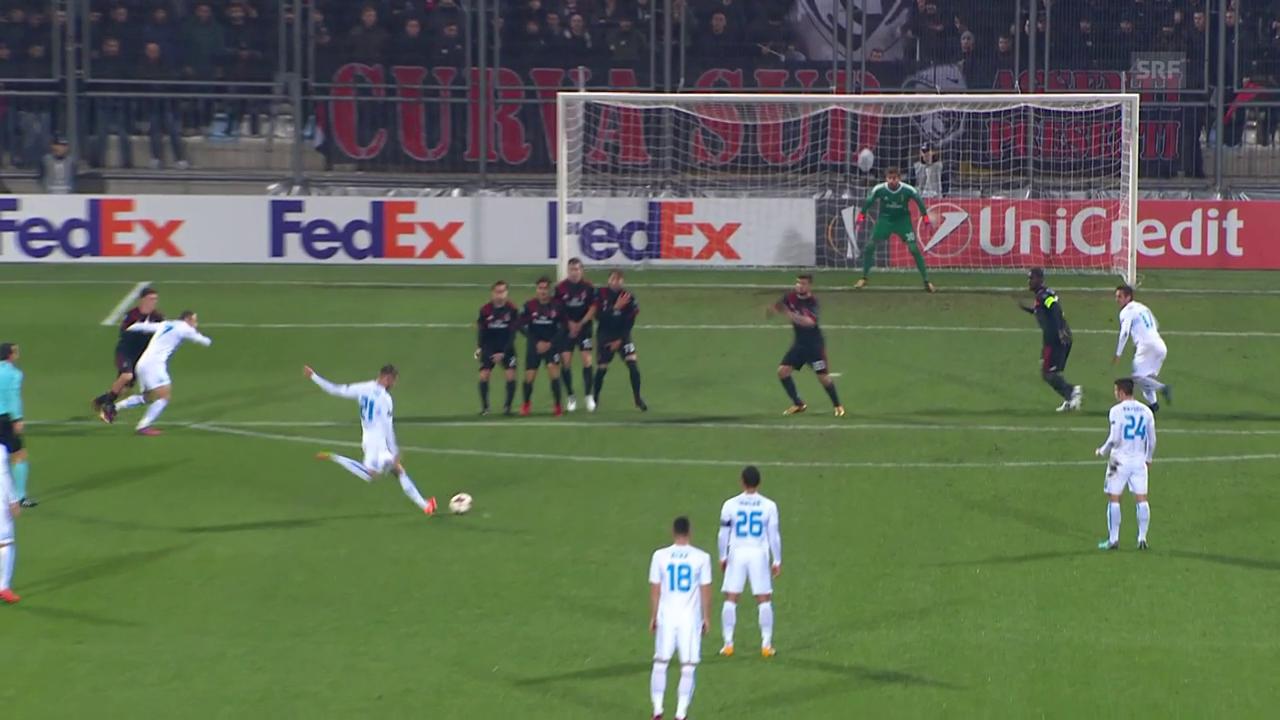 Rijeka mit Prestigesieg gegen Milan