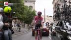 Video «Froome entscheidet den Giro für sich» abspielen