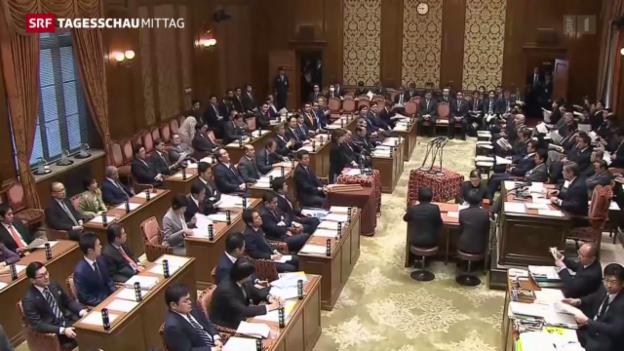 Video «Japan reagiert auf Provokation Nordkoreas» abspielen