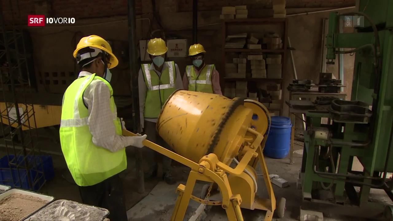 «Die Idee»: Zement mit weniger Co2-Ausstoss