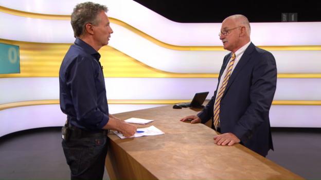 Video «Studiogespräch mit Martin Farner, Anwalt für Arbeitsrecht» abspielen