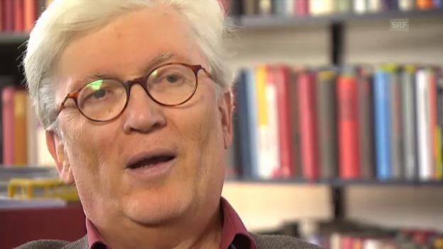 Video «Wolfgang Kraushaar: «Man hat absichtlich an der Gedenknacht einen Anschlag verübt»» abspielen