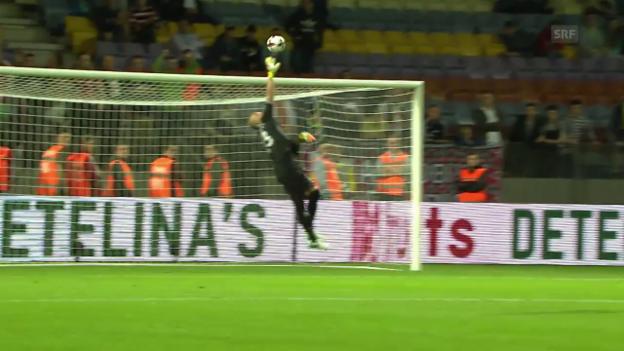 Video «Die Tore bei Weissrussland - Bulgarien» abspielen