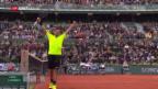 Video «Wawrinka startet mit Mühe in die French Open» abspielen