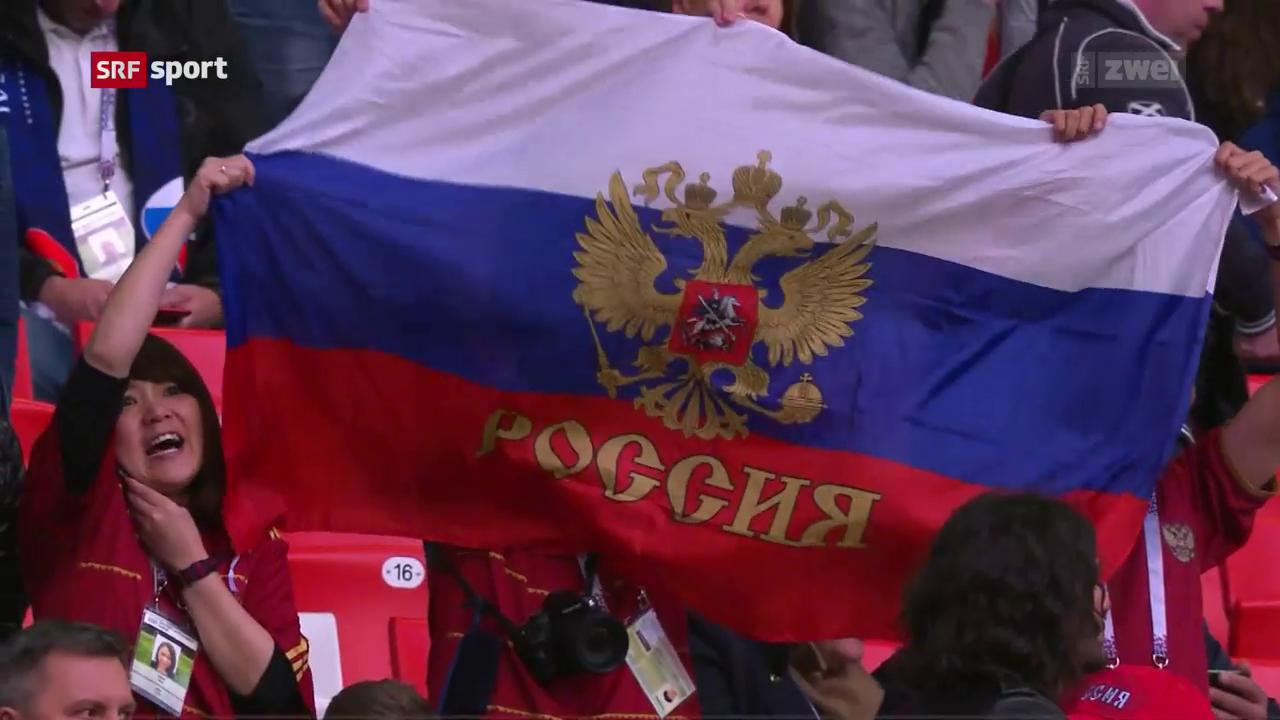 Russland: Dank Heimvorteil zum Exploit?