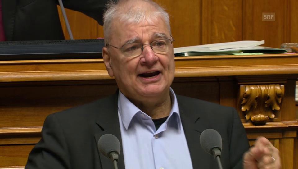 Daniel Vischer: Werden die Richtigen überwacht?