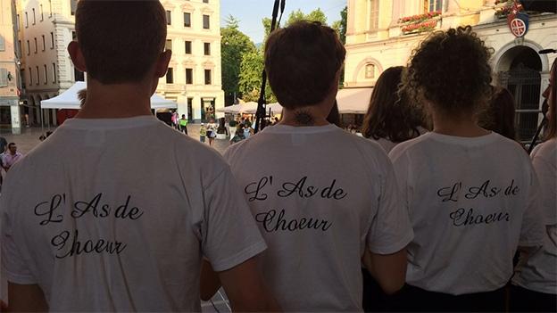 L'As de Choeur mit «Medley Les Choristes»